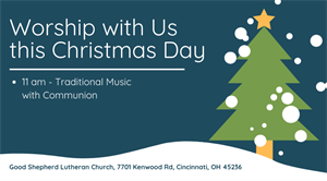 Christmas Day Worship Service